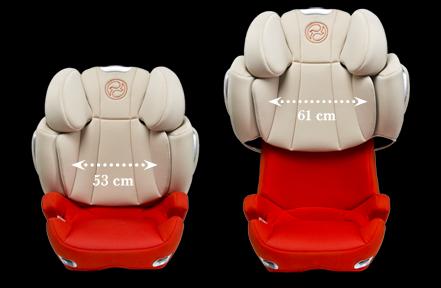 cybex solution q3 fix plus fotelik samochodowy. Black Bedroom Furniture Sets. Home Design Ideas