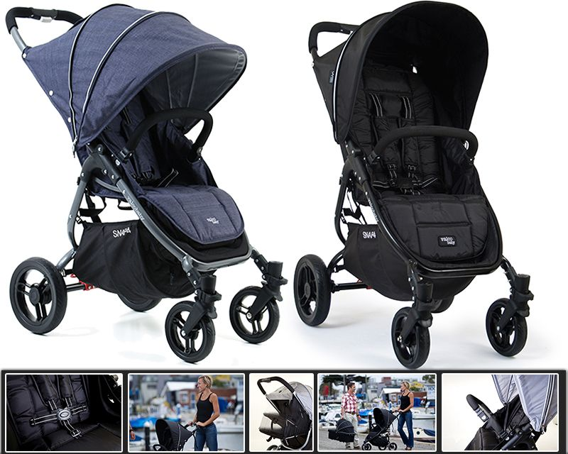 Valco Snap 4 Single Stroller Ultra Light Ebay