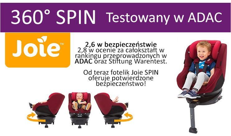 joie spin obrotowy 360 fotelik samochodowy 0 18 kg z baz. Black Bedroom Furniture Sets. Home Design Ideas